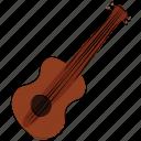 music instrument, bass, ukulele, frets, guitar, melody icon