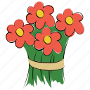 arrangement, beauty, bouquet, bouquet flower, flora, flower, flowers, spring icon