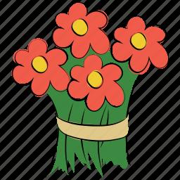arrangement, beauty, bouquet, bouquet flower, flora, flower, flowers, spring icon