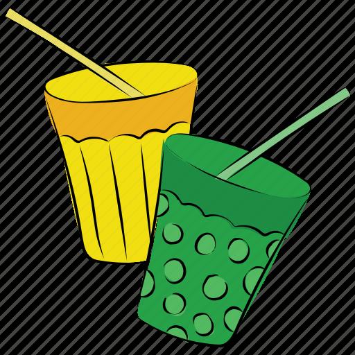 beverage, cold drink, soft drinks, straw icon