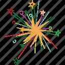 explosion, lights, bright, firework, event, celebrate icon
