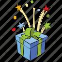box, gift, birthday, christmas gift, anniversary gift, present icon