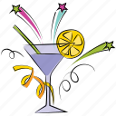 beverage, cocktail, lemonade, margarita, mocktail, party drink icon