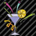 cocktail, mocktail, lemonade, party drink, beverage, margarita icon