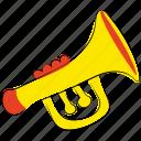 horn, music, music equipment, sound, trombone, trumpet, tuba