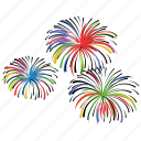 birthday, celebrate, event, explosion, firecracker, firework icon