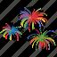 birthday, celebrate, event, explosion, firecracker, firework icon