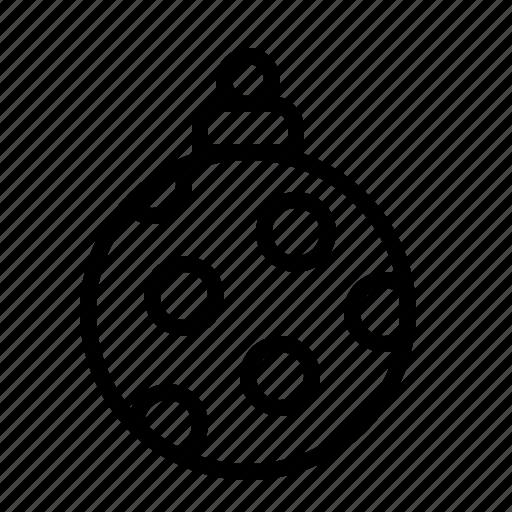 bauble, christmas, decoration, ios, ornament, tree, xmas icon