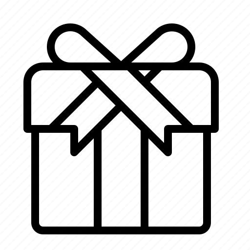birthday, box, christmas, gift, ios, present, ribbon icon