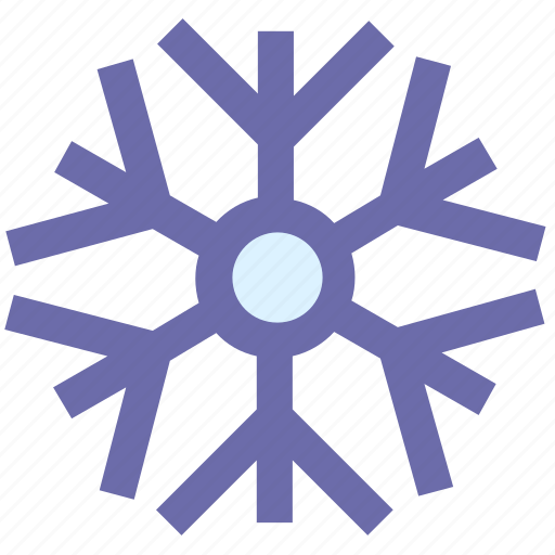 christmas, decoration, party and celebration, snow, snowflake, winter icon