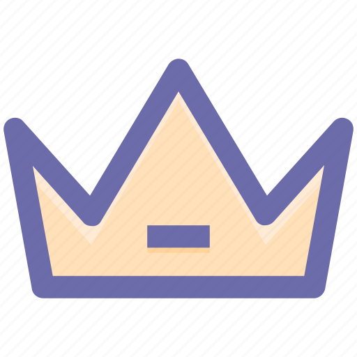 Crown, headgear, king, prince, queen, royal icon - Download on Iconfinder