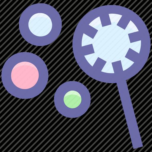 Water bubbles, bubble stick, bubble wand, soap bubbles, bubbles icon