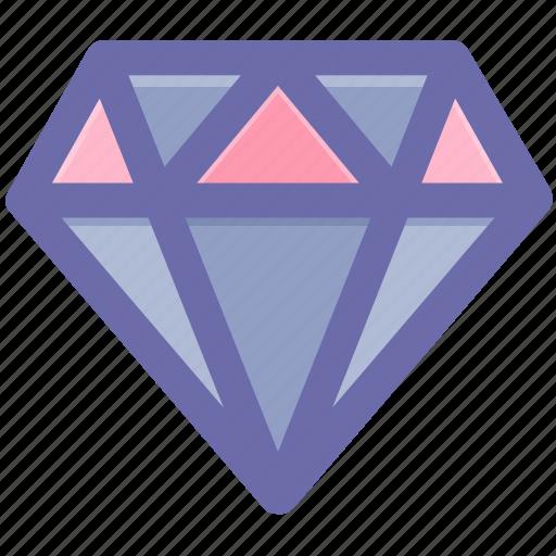 crystal, diamond, gem, gemstone, jewelry icon