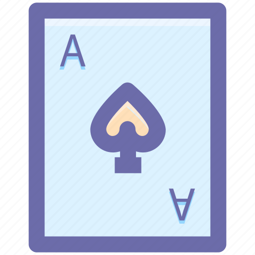 cards, casino, game, hazard, play, spades icon