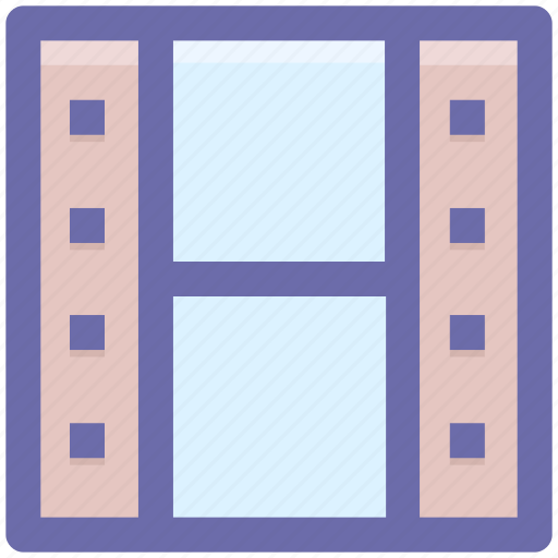 cinema movie, film, movie, video icon