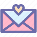 heart, favorite, email, love message, favorite email, message