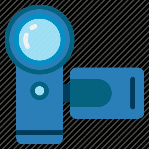 cam, camcorder, camera, recorder, video icon