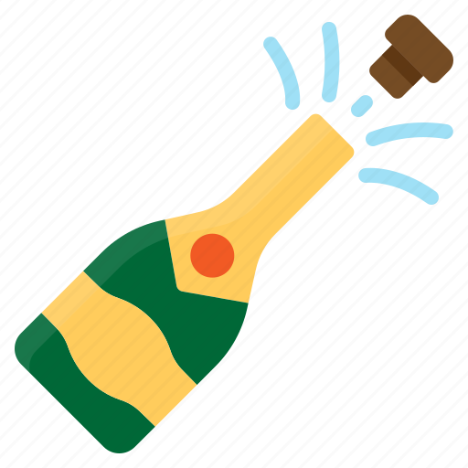 alcohol, celebration, champagne, drink, party icon
