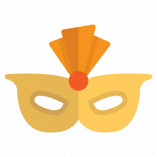 carnival, celebration, costume, mask, party icon