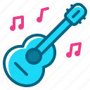 guitar, instument, music, party, song icon
