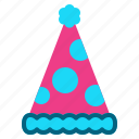 celebration, christmas, fun, hat, party icon