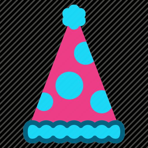 celebration, christmas, fun, hat, party icon