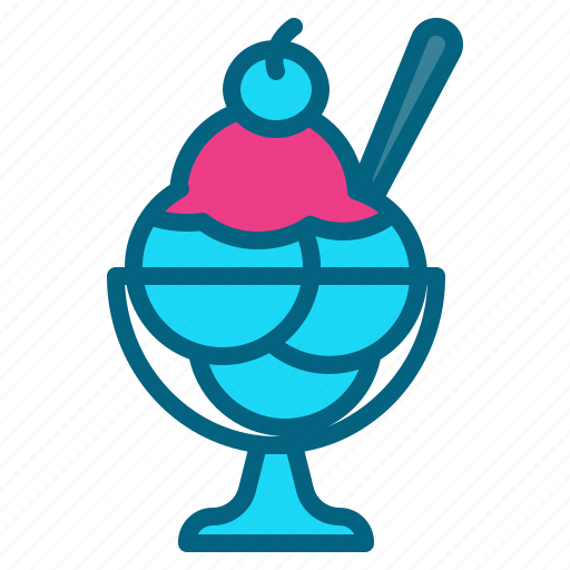 dessert, frozen, icecream, party, sweet icon