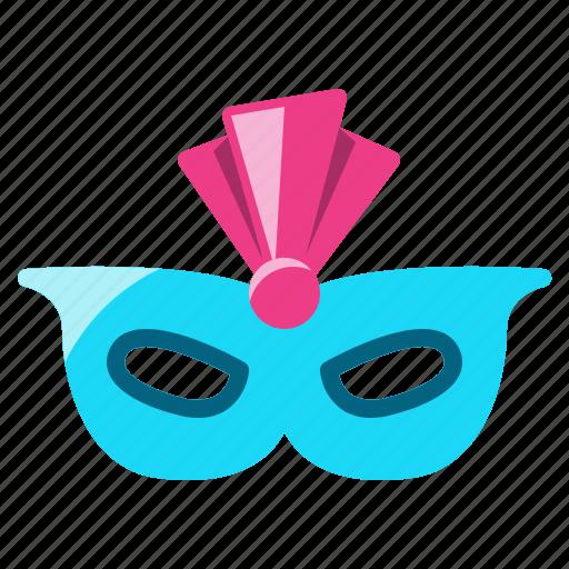 carnival, celebration, costume, mask, party icon