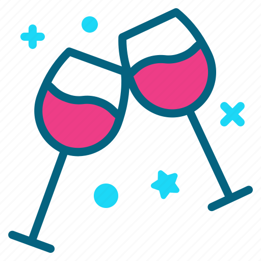 beverage, cheers, drink, party, toast icon