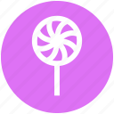 candy stick, confectionery, lollipop, lolly, sweet, sweet snack