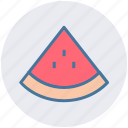 fresh, fruit, melon, slice, watermelon icon
