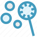 bubble stick, bubble wand, bubbles, soap bubbles, water bubbles icon