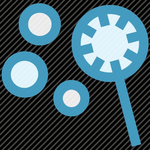 bubble stick, bubble wand, bubbles, soap bubbles, water bubbles icon