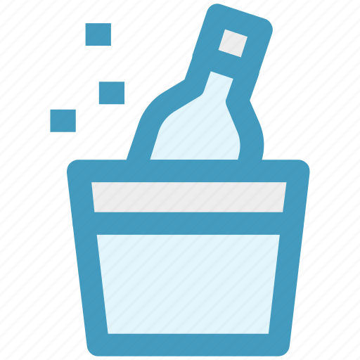 alcohol, birthday, bottle, celebration, drinking, party icon