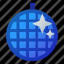 ball, disco, mirror, party