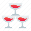 alcohol, drink, glasses, wine icon