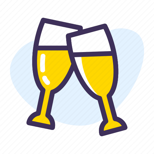 celebration, champagne, drink, drunk, party icon