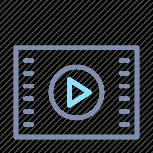 celebrity, cinema, entertainment, film, movie, play, video icon