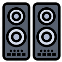 cinema, entertaiment, movie, speaker