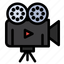 camera, film, projector, video