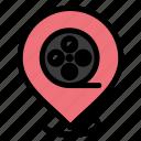 cinema, films, location