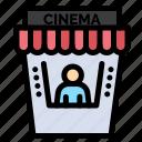 cinema, movie, theater
