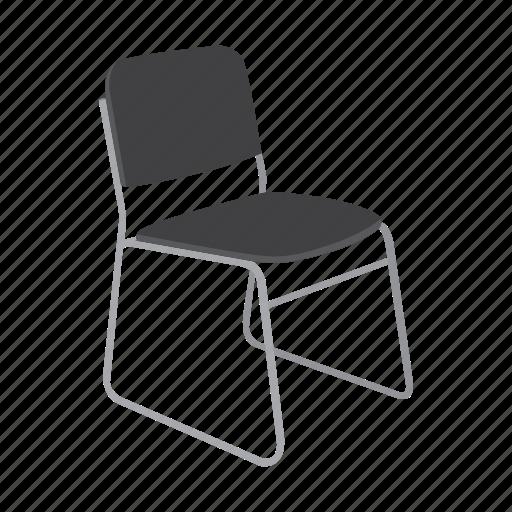 armchair, chair, furniture, interior, office, seat, sofa icon