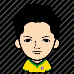 cartoon, male, man, person, profile, sports, user icon