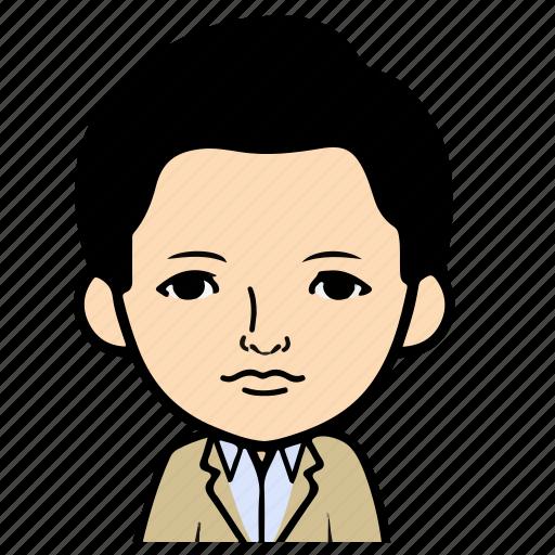 Profile, boy, person, user, male, cartoon, man icon
