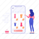 ecommerce, mecommerce, mobile app, mobile shop, online buying, online shopping, shopping app icon