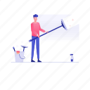 cleaning equipment, cleaning service, cleaning tools, dirt cleaning, dust cleaner, household appliance icon