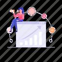 affiliate marketing, referral, referral program, social community, web marketing, wen analytics icon