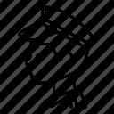 avatar, job, male, person, police icon