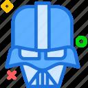 avatar, character, darthvader, profile, smileface, starwars icon